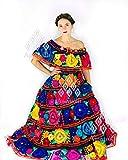 Traje Típico Artesanal Mexicano De Gala Bordado A Mano
