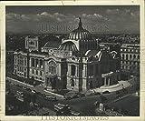 Historic Images – 1955 - Fotografía de prensa Palacio de Bellas Artes en la Ciudad de México – nob87305