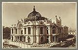HistoricalFindings Foto: Teatro Nacional, México, c1920, Palacio de Bellas Artes en construcción, Ciudad de México
