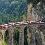 video descubriendo suiza por tren alpes suizos