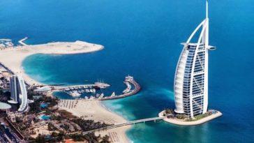 Burj Al Arab un hotel de 7 estrellas que puedes visitar en Dubái
