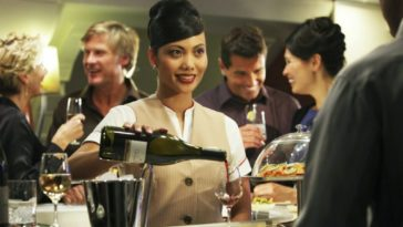 El mejor vino a bordo de un avión lo encontramos en Emirates Air Lines
