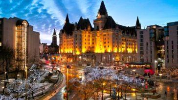Fairmont Château Laurier, un hotel como de cuento en Ottawa