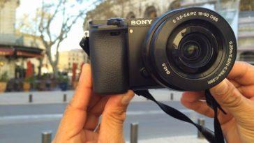 Probé en Francia la Alpha ILCE-6000 de Sony. Aquí mi reseña
