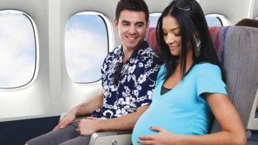 tips para mujeres embarazadas tomar avion