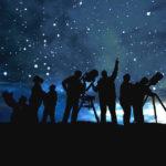 cosmos viaje observacion estrellas bosque