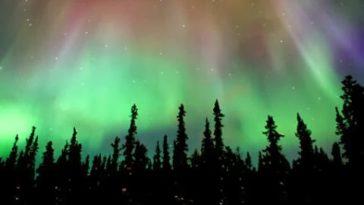 ver auroras boreales yukon canada