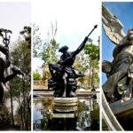 esculturas alameda central centro historico