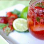 receta mojitos fresa como preparar hacer