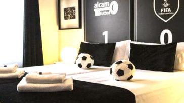 hoteles futboleros mundo