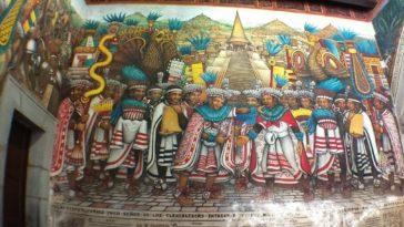 murales tlaxcala donde estan cultura prehispanica