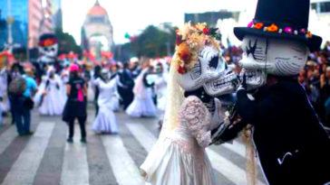 mejores fotos desfile dia muertos cdmx df