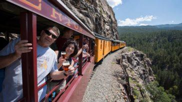 tren cerveza viaja bonito