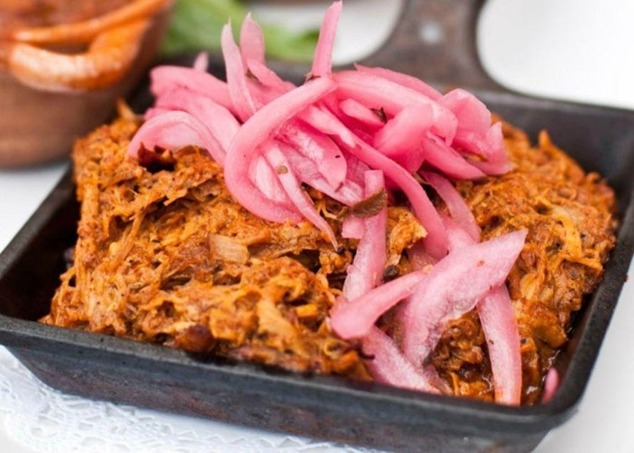 platillos mexicanos comida típica mexicana  cochinita pibil
