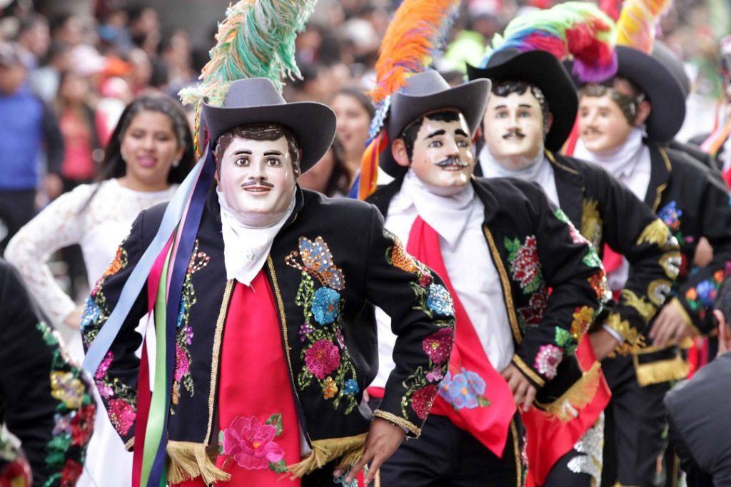 Máscara de Huehue Carnaval de Tlaxcala