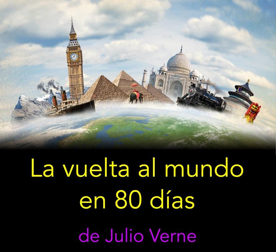La vuelta al mundo en 80 días' de Julio Verne
