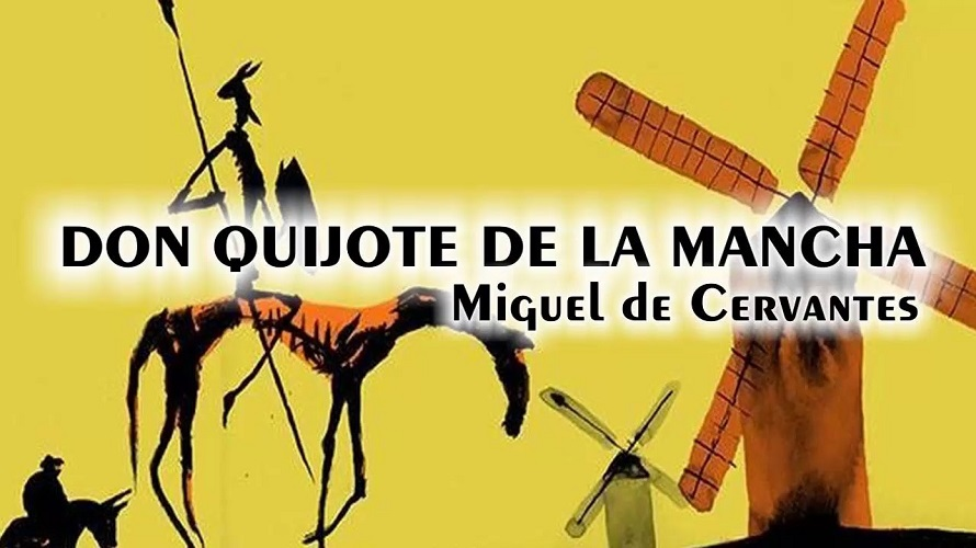 Don Quijote de La Mancha de Miguel de Cervantes, libros de viajes