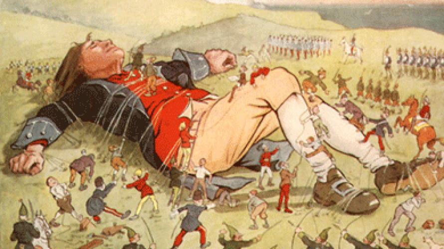 Los viajes de Gulliver de Jonathan Swift, libros de viajes