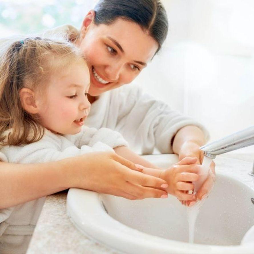 lavado de manos prevención