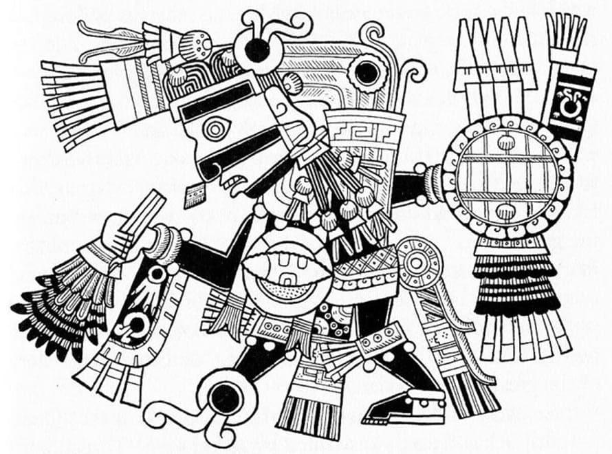 Relación entre Dioses y Nahuales