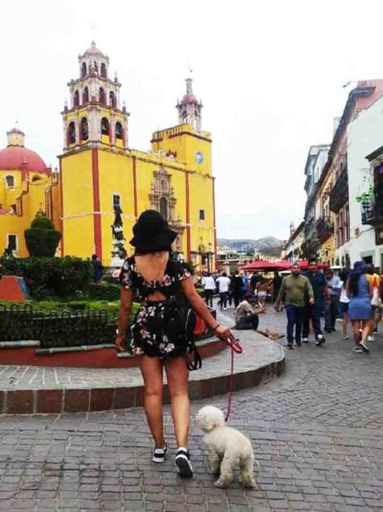 Plaza de la Paz Guanajuato
