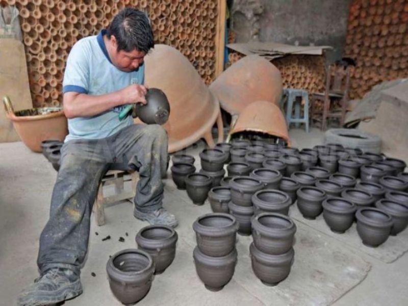 Artesanías de Puebla: Alfarería de Amozoc