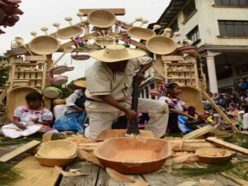 Artesanías de Madera de Cuetzalán