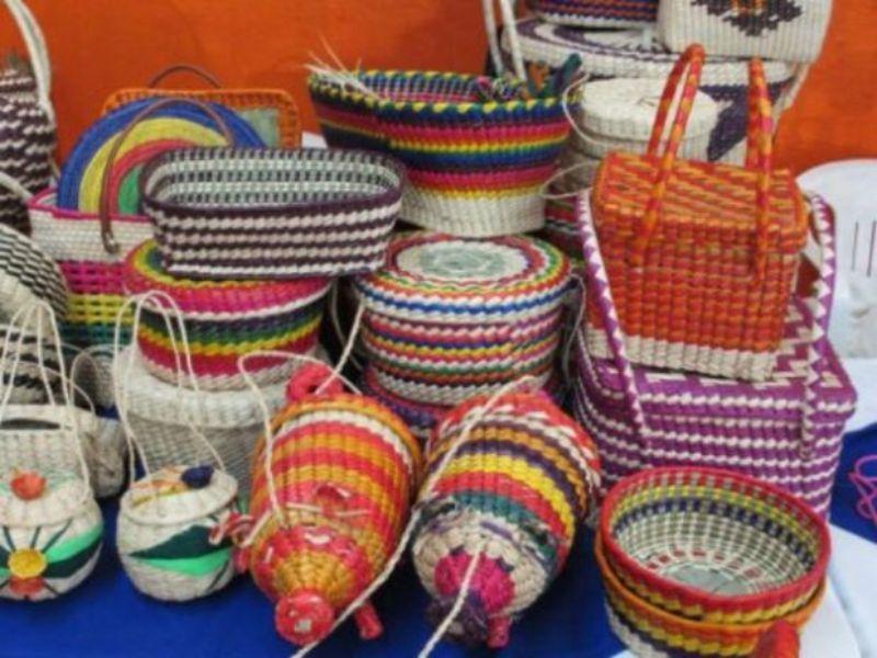 Artesanías de Puebla: Cestería de Santa María Chigmecatitlán