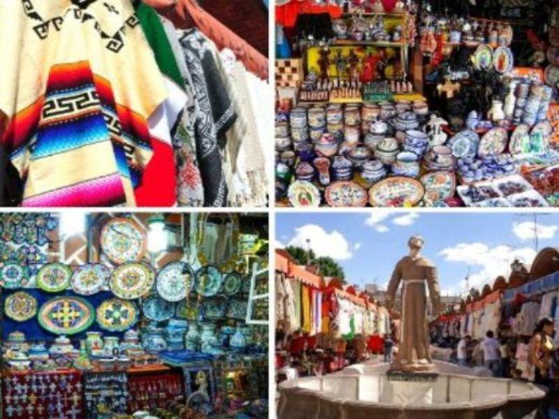 ¿Dónde comparar artesanías de Puebla?