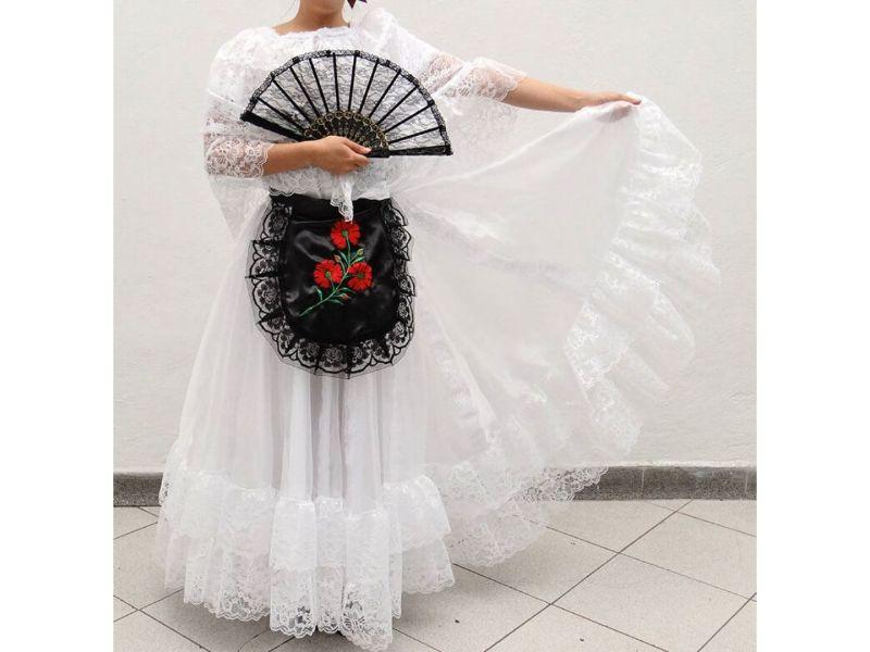 Trajes típicos de México: Traje de Jarocha