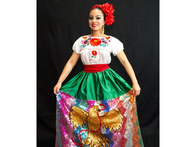 Trajes típicos de México: La china poblana