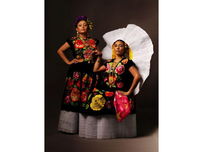 Trajes típicos de México: las tehuanas, Oaxaca