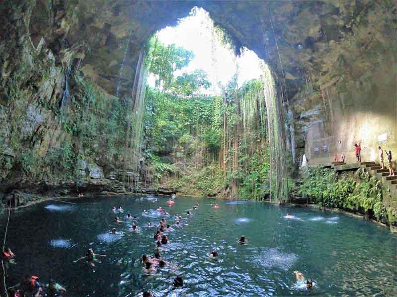 Cenote Ik kil la gigantesca maravilla natural de Yucatán