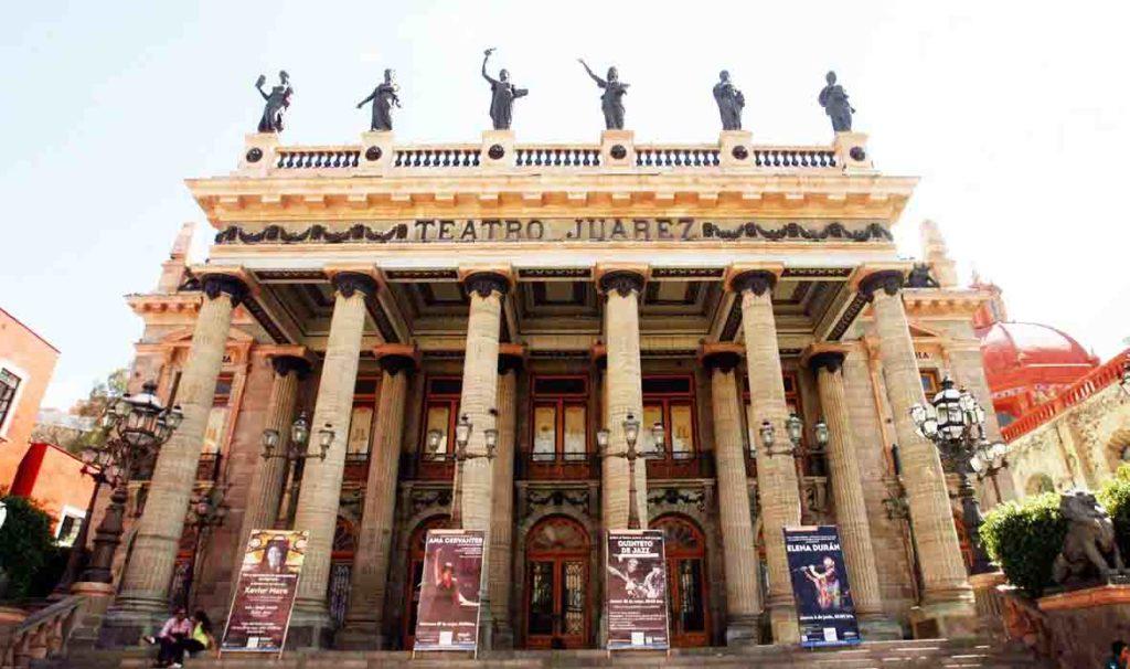 que hacer en Guanajuato teatro uarez