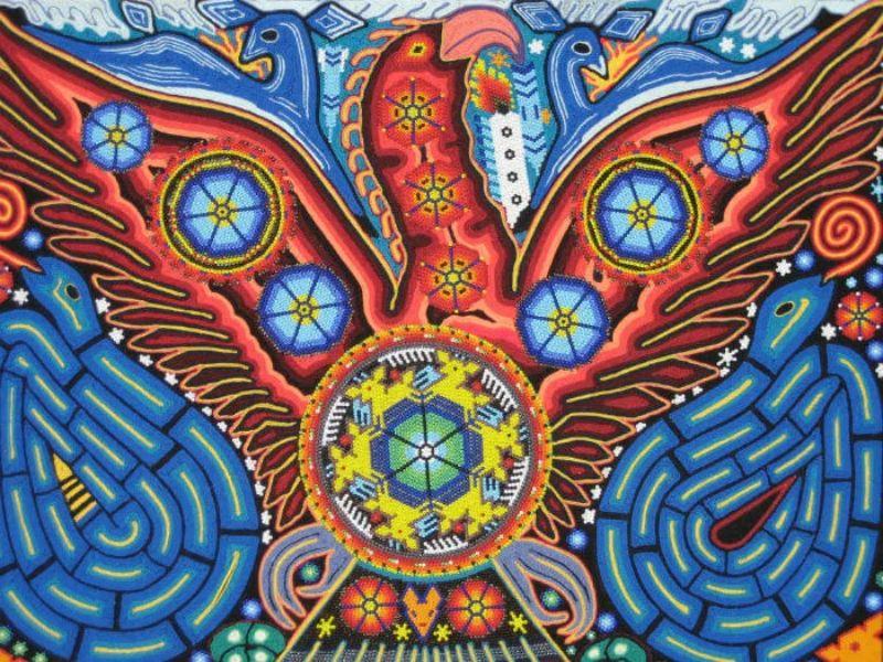 Arte Huichol una forma de escritura