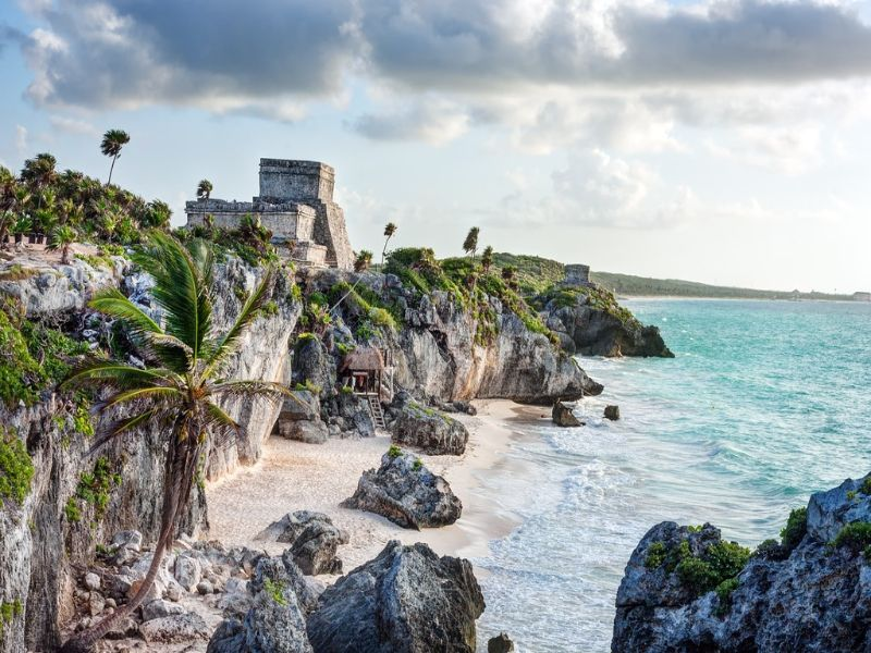 Mejores lugares de Quintana Roo: 3. Tulum (Sitio Arqueológico)