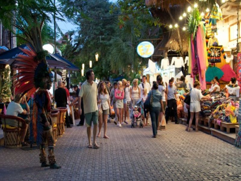 Mejores lugares de Quintana Roo: 7. La Quinta Avenida